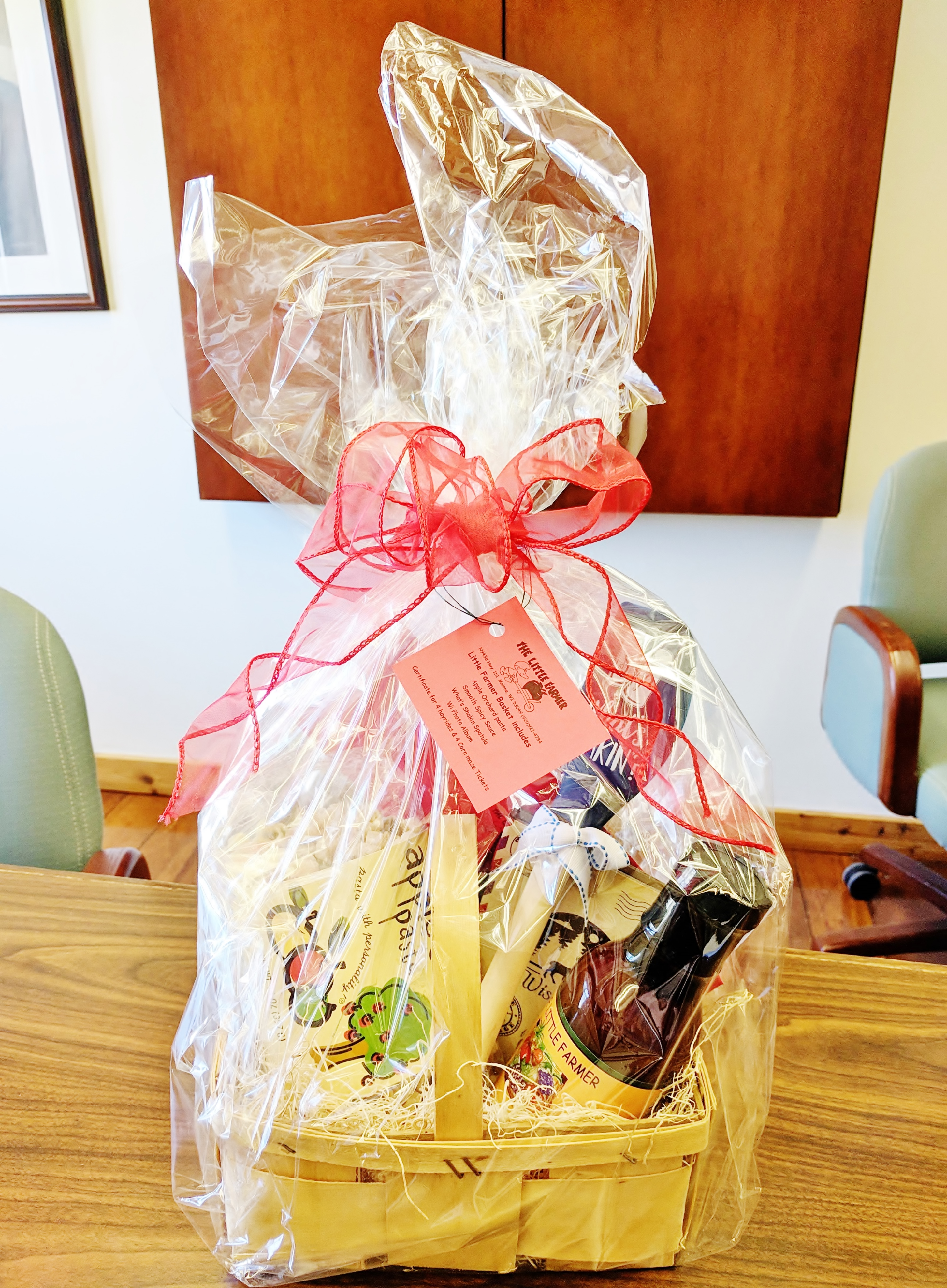 Gift Basket from Little Farmer Orchard and Farm Market in Malone, WI
