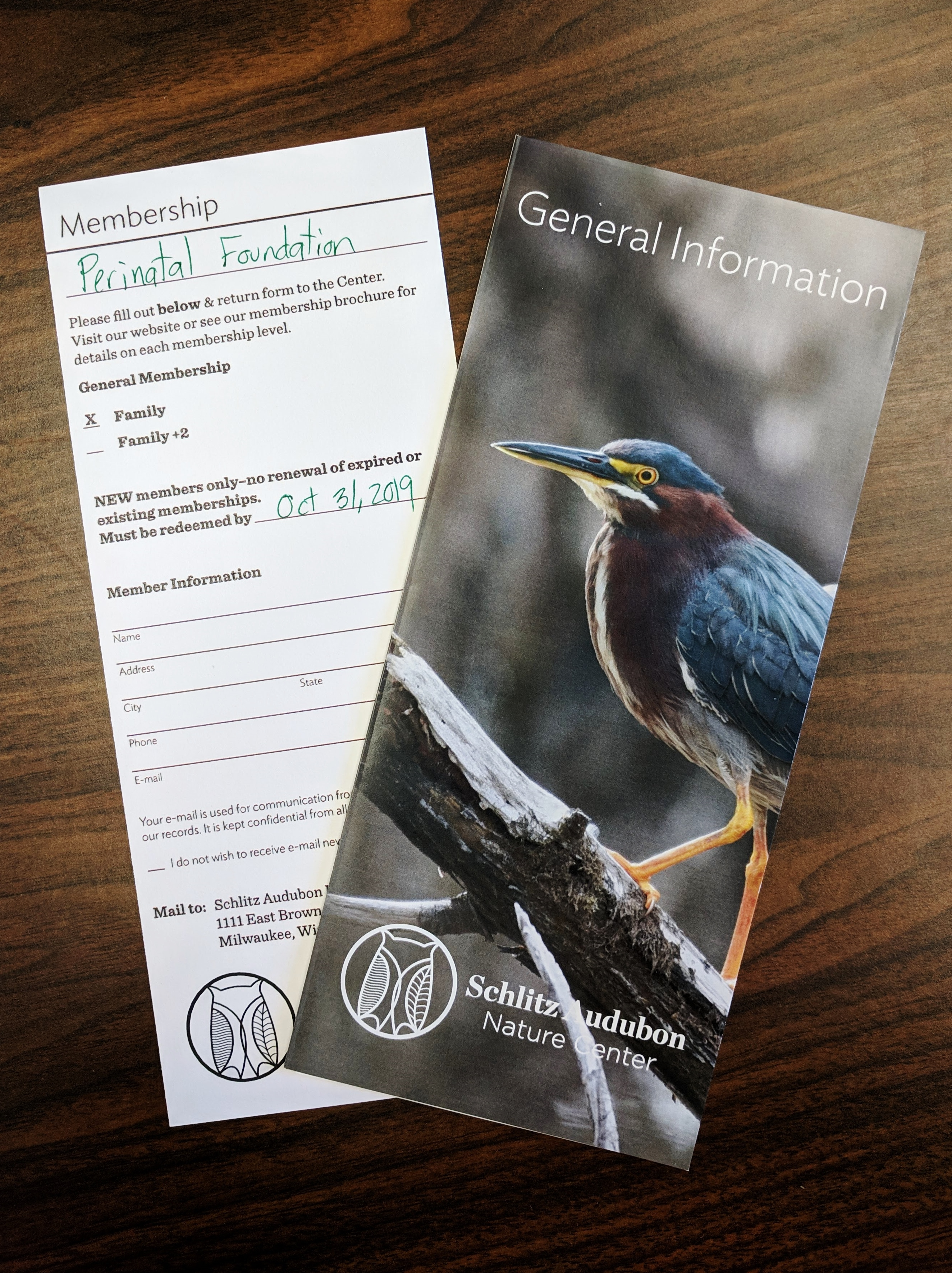 One-Year Family Membership to the Schlitz Audubon Nature Center in Bayside, WI