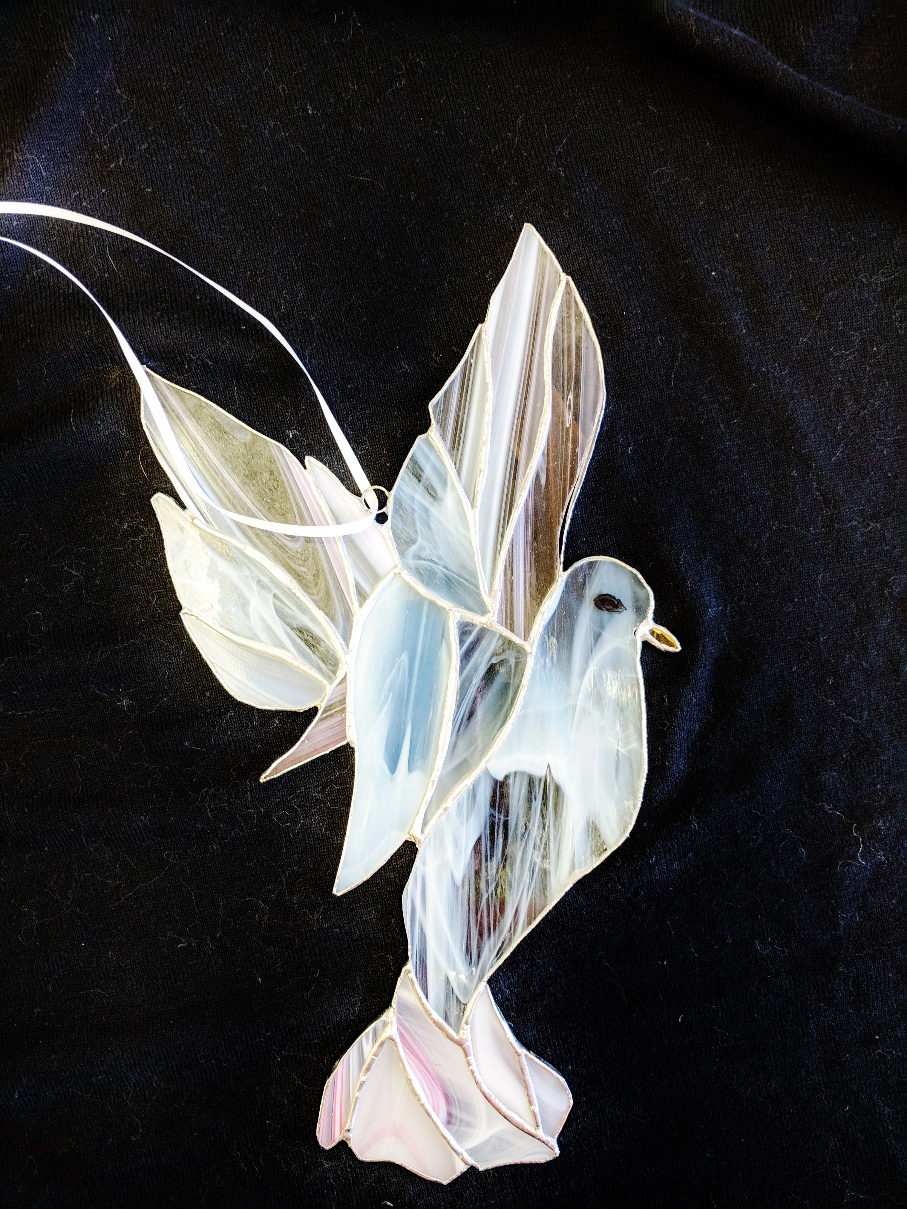 Stained Glass Dove by Diane Wara of Oshkosh, WI